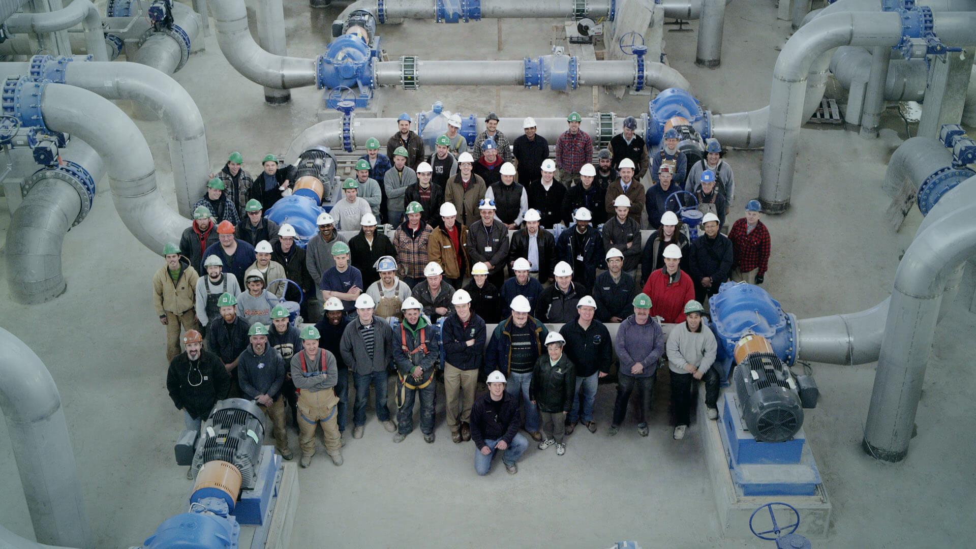 Group of NAC's master builders