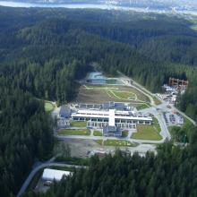 Seymour-Capilano Water Treatment Facility Aerial Overview