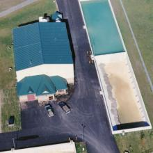 Cochrane Water Treatment Plant Aerial Overview