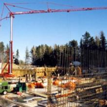 Tower Crane and Formwork for Terrace Bay Water Treatment Plant